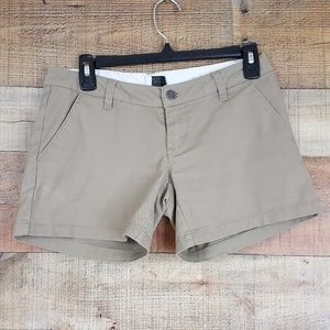 Volcom Casual Shorts Womens Size 1 Beige W5
